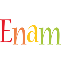 Enam birthday logo