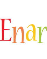 Enar birthday logo