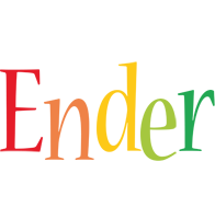 Ender birthday logo