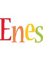 Enes birthday logo