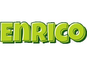 Enrico summer logo