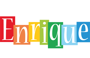 Enrique colors logo