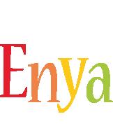 Enya birthday logo