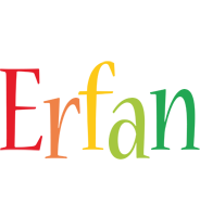 Erfan birthday logo