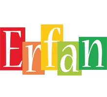 Erfan colors logo
