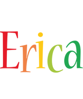 Erica birthday logo