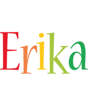 Erika birthday logo