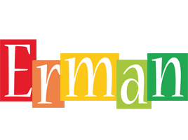 Erman colors logo