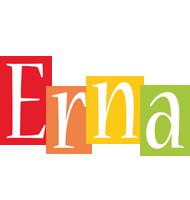 Erna colors logo