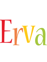Erva birthday logo
