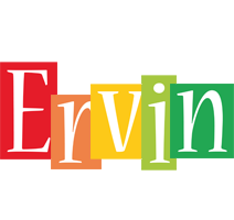 Ervin colors logo