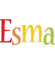 Esma birthday logo