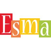 Esma colors logo