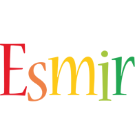 Esmir birthday logo