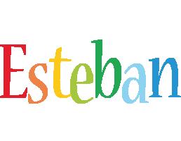 Esteban birthday logo