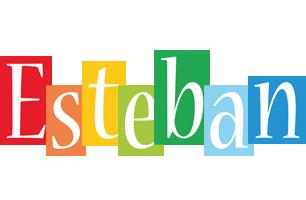 Esteban colors logo
