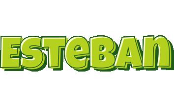 Esteban summer logo