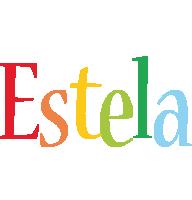 Estela birthday logo