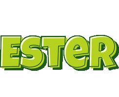 Ester summer logo