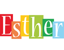 Esther colors logo