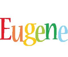 Eugene birthday logo