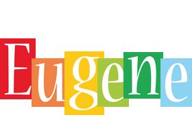 Eugene colors logo