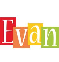 Evan colors logo