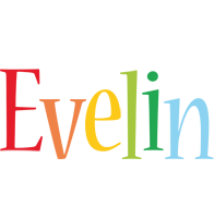 Evelin birthday logo