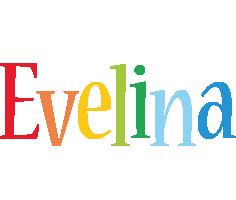 Evelina birthday logo