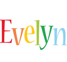 Evelyn birthday logo