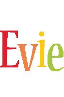 Evie birthday logo