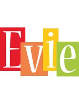 Evie colors logo