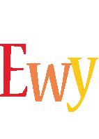 Ewy birthday logo
