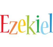 Ezekiel birthday logo