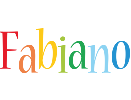 Fabiano birthday logo