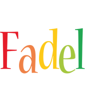 Fadel birthday logo