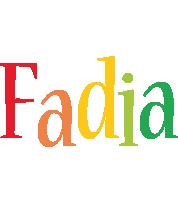 Fadia birthday logo