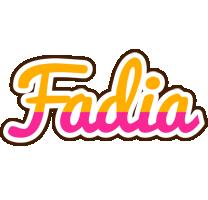 Fadia smoothie logo