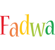 Fadwa birthday logo