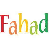 Fahad birthday logo