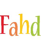 Fahd birthday logo