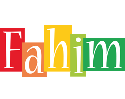 Fahim colors logo