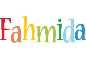 Fahmida birthday logo