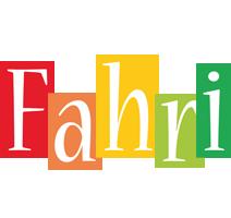 Fahri colors logo
