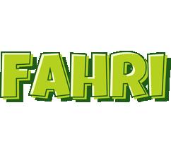 Fahri summer logo