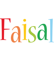 Faisal birthday logo