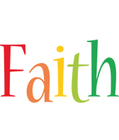 Faith birthday logo