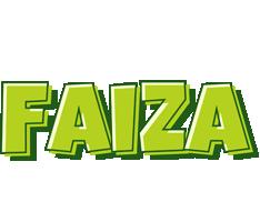 Faiza summer logo