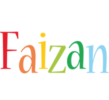 Faizan birthday logo