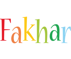 Fakhar birthday logo